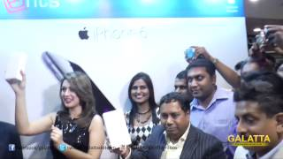 Apple iPhone 6 Launch | Hansika Motwani at Phoenix Market City | Galatta Tamil