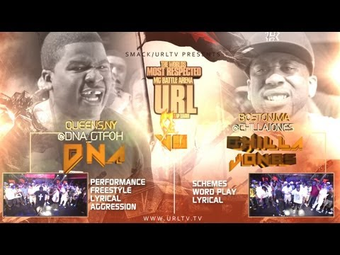 Smack / URL Presents: DNA vs Chilla Jones (Battle Rap)