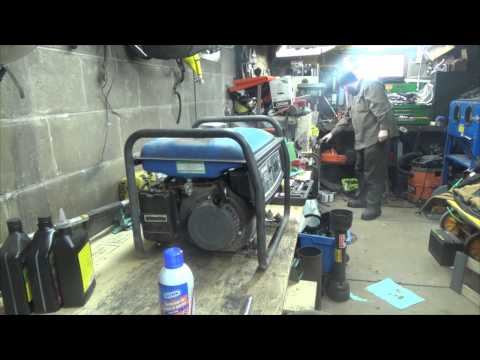 Servicing the generator and Building tools