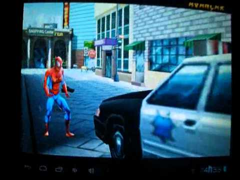 Ultimate Spider Man no tablet Genesis gt 7200