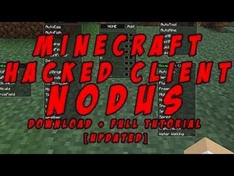 MINECRAFT | CLIENT HACKS!!!i![1.4.7]!! | [Nodus] | & GREIFING!!!!!! :D Hack DOWNLOAD IN DESCRIPTION