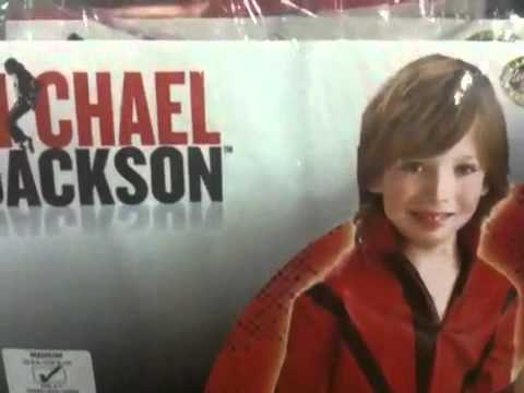 Michael Jackson Halloween Costumes? For 2010? Review by Mike Mozart