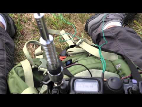 Bad Ass! ICOM AH-703 5 band antenna. Great QRP mil-spec antenna