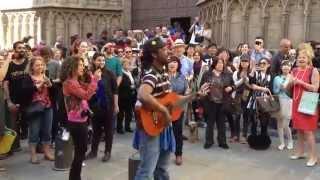 Street Singer Barcelona - Clarence Bekker