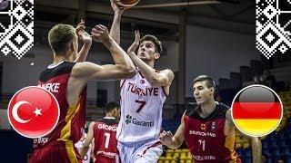 Turkey v Germany - Full Game - FIBA U18 European Championship 2018