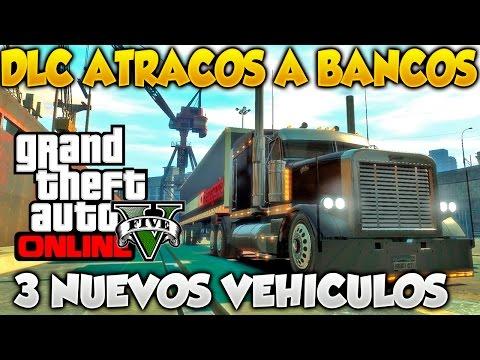 GTA V Online DLC Atracos A Bancos 3 Nuevos Vehiculos Informacion Filtrada