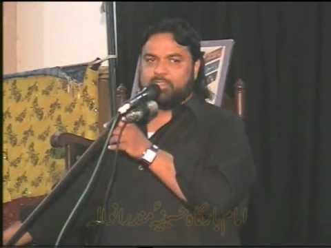 Shaukat Raza Shaukat 8 Muharram Hussainiya-mandranwala video