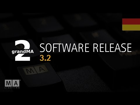 MA Software Release 3.2 - Deutsch