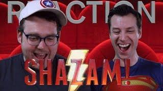 SHAZAM! - Official Teaser Trailer Reaction