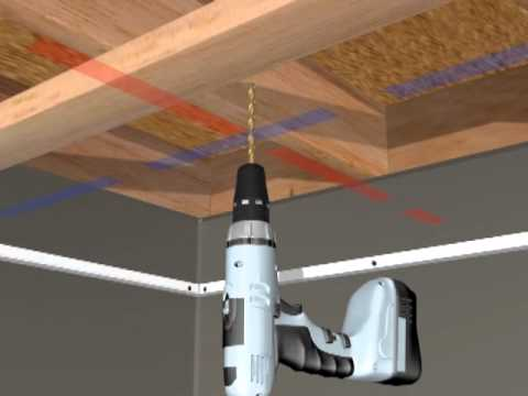 Hg Grid Suspended Ceiling Installation Youtube