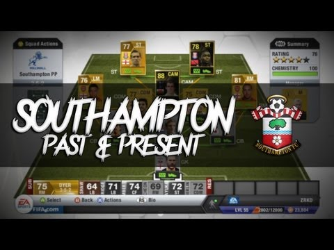 FIFA 13 | Squad Builder | Southampton Past & Present Feat. IF Bale