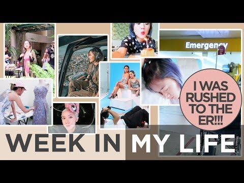 Week In My Life | Photoshoots, My Fashion Design Work, Rushed To The ER!!!