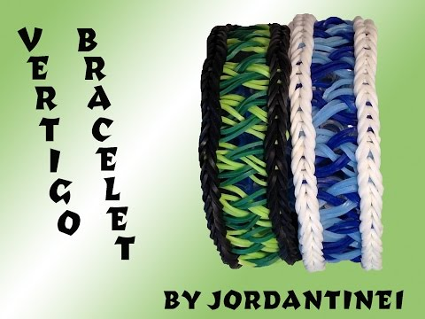 New Vertigo Bracelet - Rainbow Loom or Monster Tail