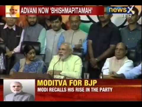 Breaking News: Rajnath singh anoints Modi BJP PM candidate