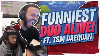 DUO SQUADS WITH DAEQUAN! FUNNY HIGH KILL GAME (Fortnite BR Full Game)
