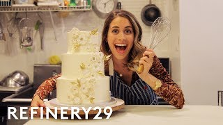 I Trained As A Wedding Cake Decorator Lucie For Hire Refinery29