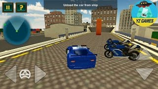 Police Car Transporter Ship - Android GamePlay FHD