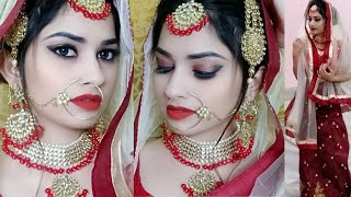 Indian Muslim Bridal Makeup Tutorial 👰