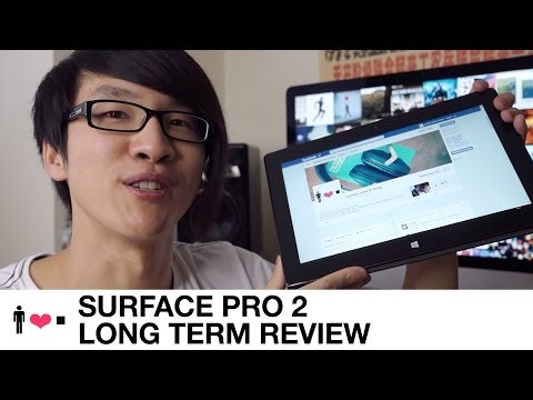 Surface Pro 2 Long Term Review + Comparisons