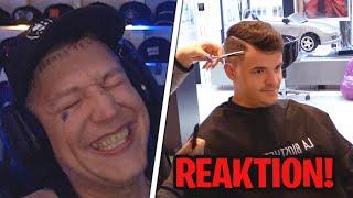 Montanablack reagiert auf TOURETTE 🤣 Beim Friseur & Rasieren   MontanaBlack Reaktion