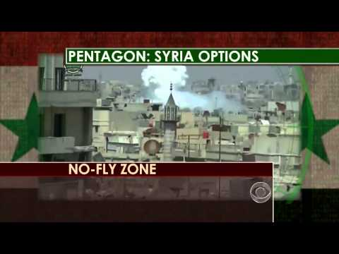 Syria : Pentagon lays out U.S. Military invasion and destrucion of Syria (Jul 23, 2013)