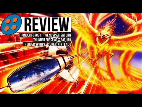 Thunder Force III. AC. & Thunder Spirits Video Review