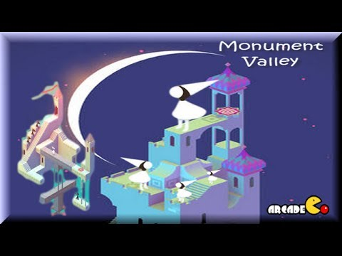 Monument Valley - Gameplay Walkthrough ALL Levels 1 - 10 (1080p)