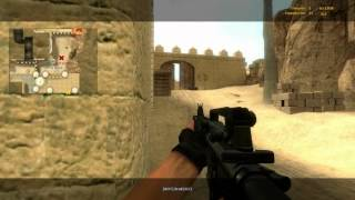 [Counter Strike: Source] Gameplay with BOTs at De_Dust2