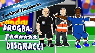 "🤬DROGBA RANT! ""F****** DISGRACE!""🤬Chelsea vs Barcelona Football Flashback (Champions League 2009)"