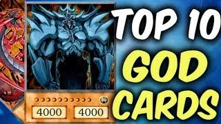 TOP 10 GOD Cards of Yugioh TCG (Yu-Gi-Oh Top 10 List)