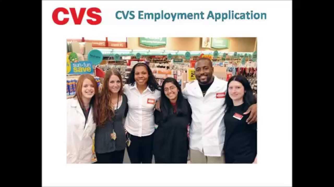 cvs employment application video