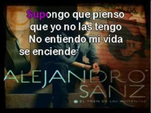 Alejandro Sanz   Cuando Nadie Me Ve