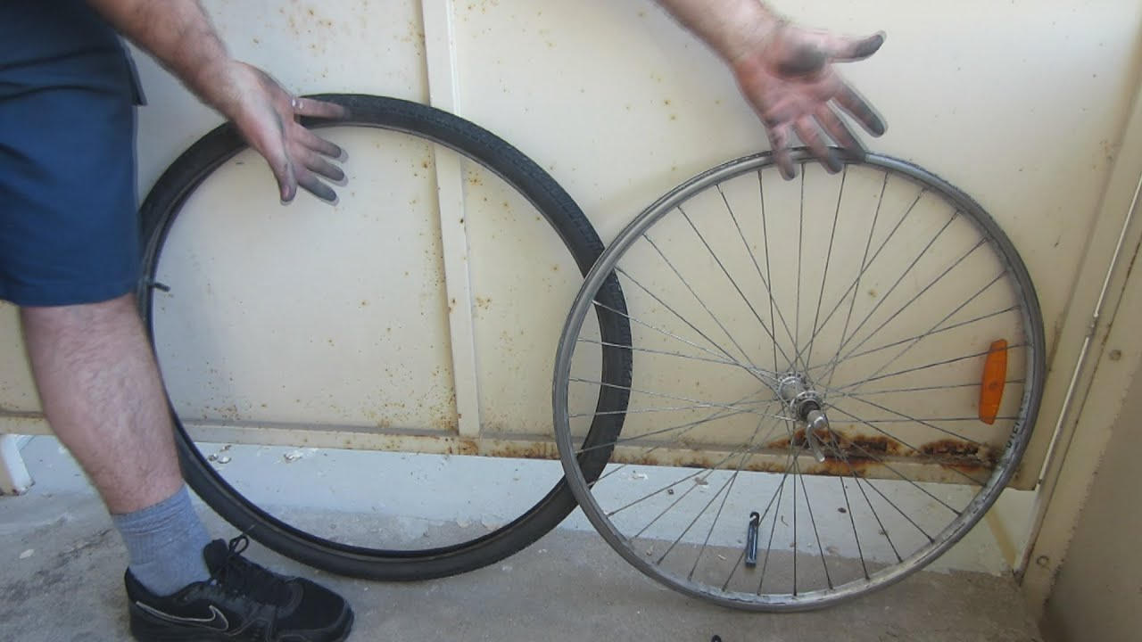 how to take off a bike tire