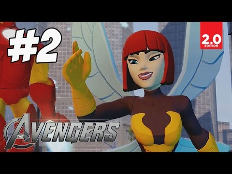 The Avengers - Part 2 (Shaking the Wasp's Nest) Disney Infinity 2.0 Marvel Super Heroes
