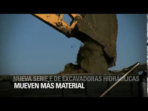Excavadoras de cadenas serie E de Caterpillar