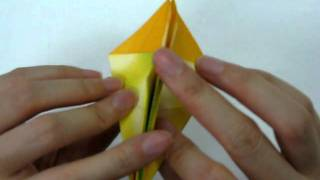 How To Make - Origami Lily