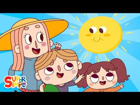 download lagu Mr. Sun, Sun, Mr. Golden Sun  Kids Songs  Super Simple Songs gratis