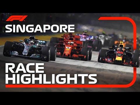 2018 Singapore Grand Prix: Race Highlights
