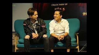 Trường Giang chọc ghẹo chuyện tình cảm Ngô Kiến Huy tại Thách thức danh hài 5
