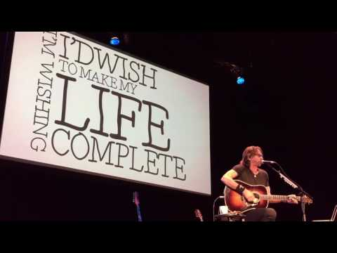 Rick Springfield - If Wishes Were Fishes - Cabot/Beverly - 12.17.16