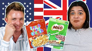 Australia Vs. USA Breakfast Cereal Swap