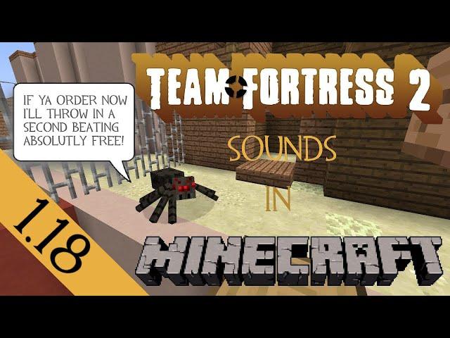 Minecraft TF2 sound resource pack [Updated 07-31-2014]