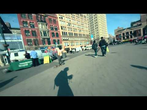 Beatstick Boombox - Steven Vera for Bustin Boards Custom Longboards