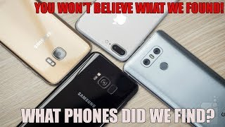 5 PHONES FOUND DUMPSTER DIVING PHONE STORE!