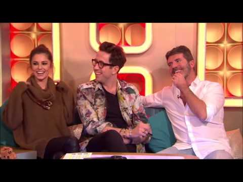 Cheryl, Nick Grimshaw & Simon Cowell : Interview (Xtra Factor 2015)