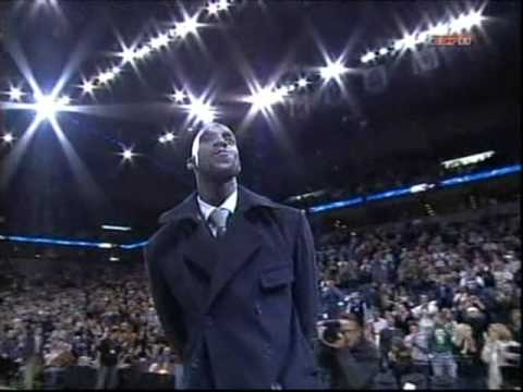 Kevin Garnett Returns to Minnesota - BOS at MIN (Feb 8, 2008)