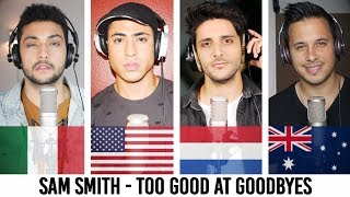 Download Lagu Too Good At Goodbyes - SAM SMITH (Cover by Continuum) Gratis STAFABAND