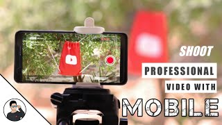 How to shoot professional video with mobile | Like a DSLR | Shoot cinematic video | TechAbuzar