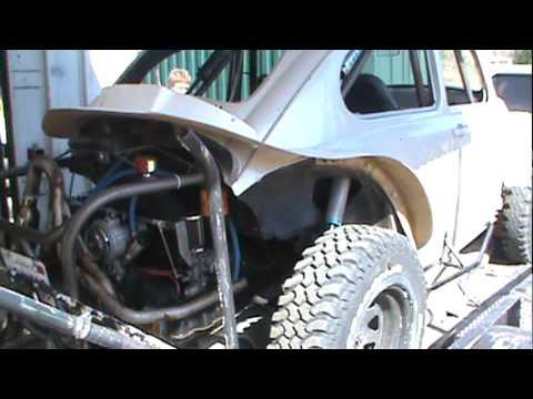vw Baja Bug Front Cage Build/
