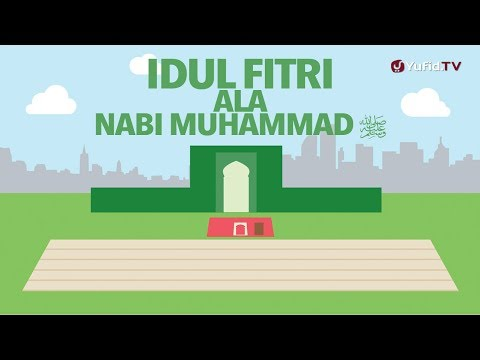 Motion Graphics - Idul Fitri ala Nabi Muhammad Shallallahu 'alaihi wasallam